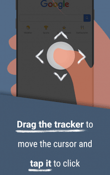 Reachability Cursor: one-handed mode mouse pointer скриншот 3