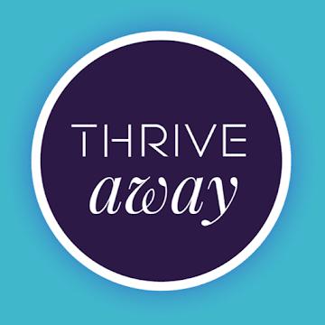THRIVE AWAY logo