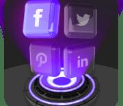 "Техно-тема ""3D стекло"" logo"