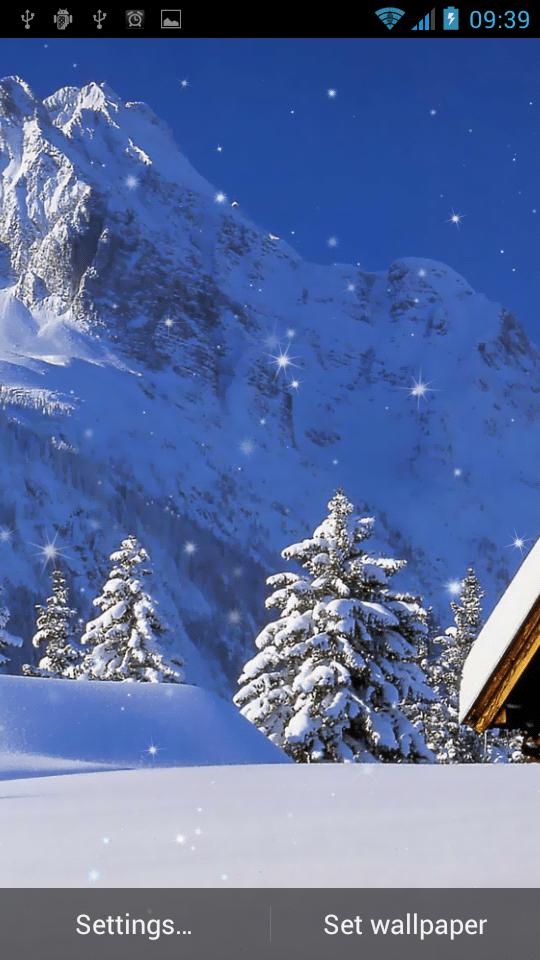 Зимние сюжеты скриншот 3