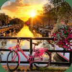 Город Амстердам обои (фоны и темы)