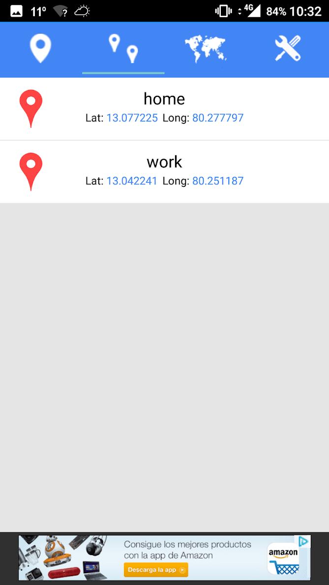Координаты широты GPS скриншот 2