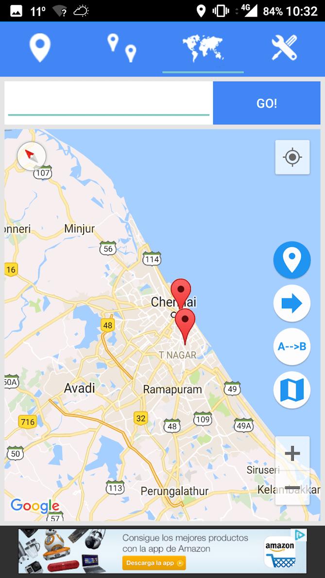 Координаты широты GPS скриншот 3