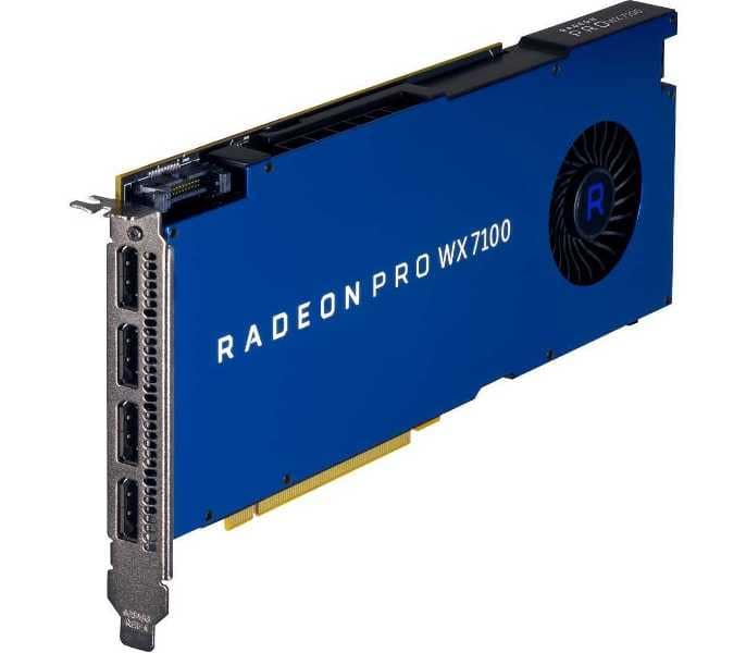Видеокарта AMD Radeon Pro WX.