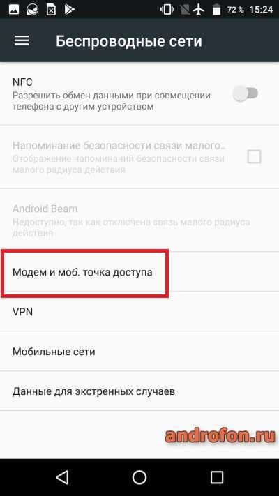 Модем и мобильная точка доступа.