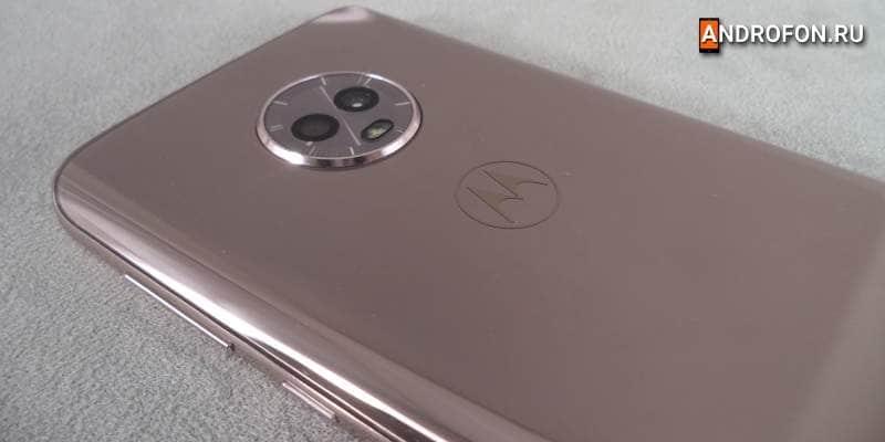 Камера телефона Мото G6
