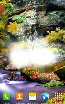 3D Осенний Водопад скриншот 1