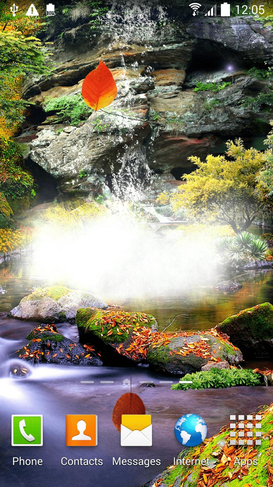 3D Осенний Водопад скриншот 4