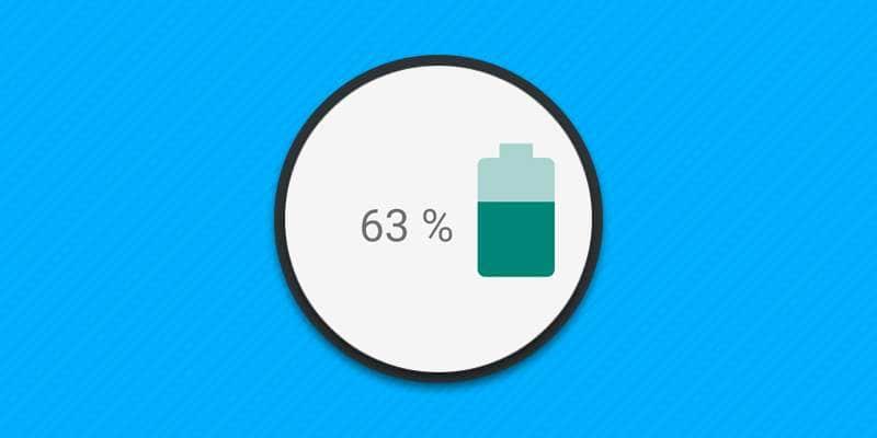 Какой процент заряда батареи в телефоне.