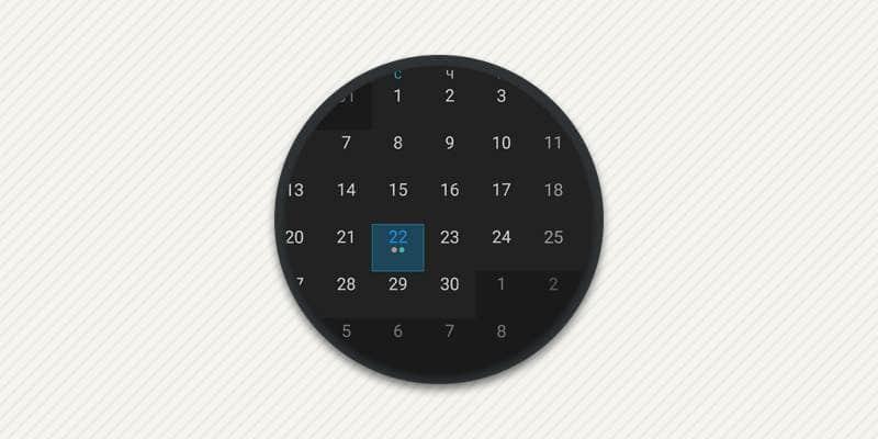 Подборка календарей для андроид.