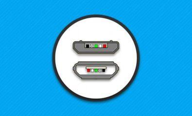 Распиновка Micro USB.