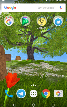 Природа летом скриншот 1