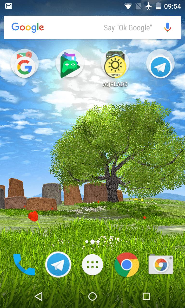 Природа летом скриншот 2