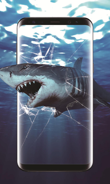 3D Акула в океане скриншот 2