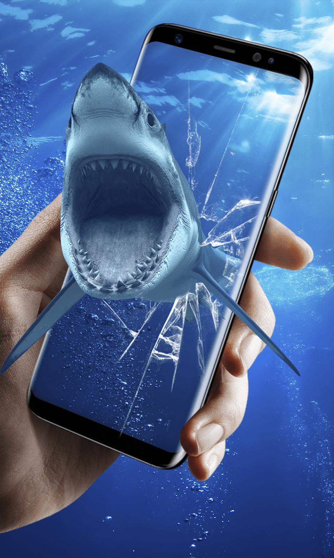 3D Акула в океане скриншот 3
