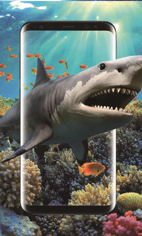 3D Акула в океане скриншот 4