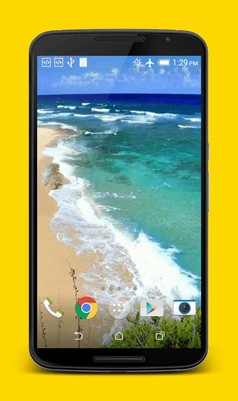 Волны на пляже скриншот 3