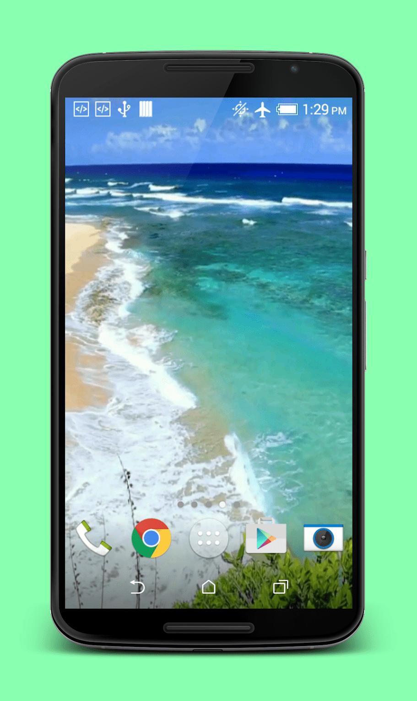 Волны на пляже скриншот 4
