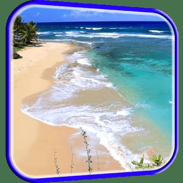 Волны на пляже logo