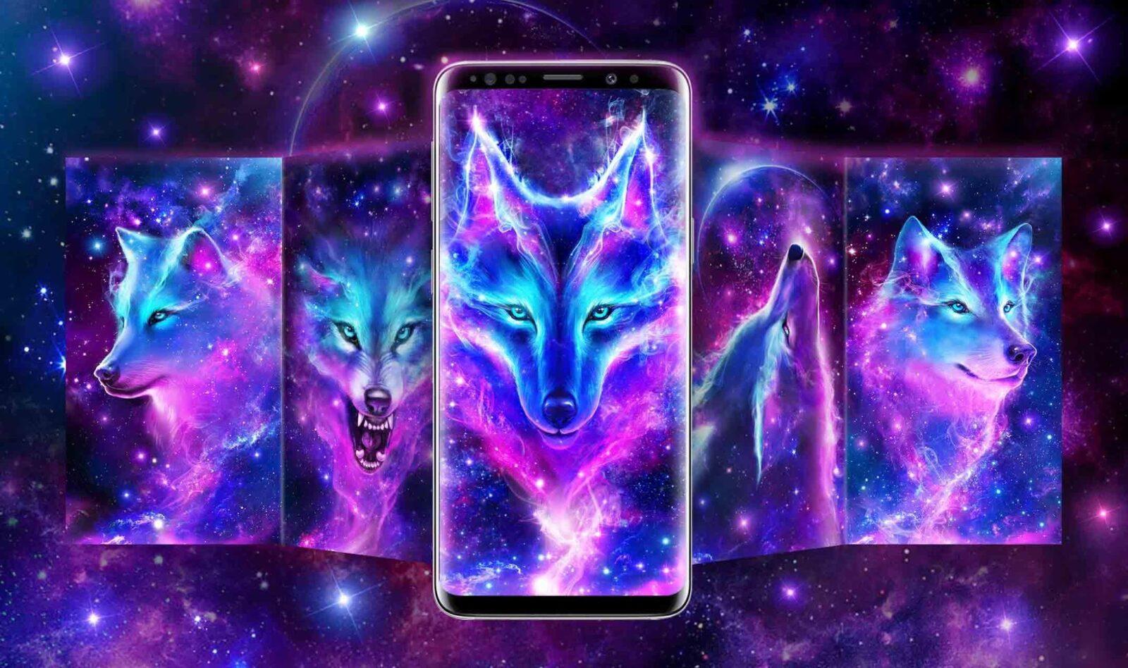Волк в ночном небе скриншот 2