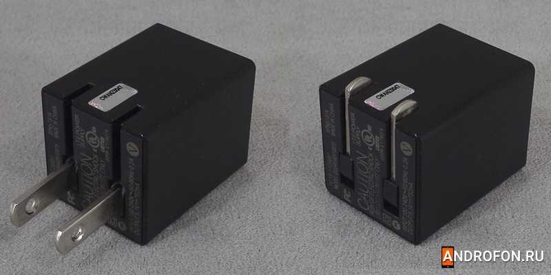 Зарядное устройство Motorola spn5737a со складывающейся вилкой.
