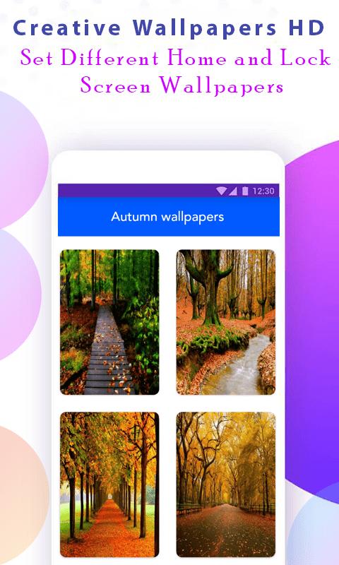 Autumn Wallpaper скриншот 2