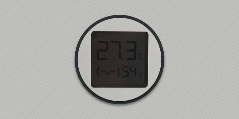 Обзор гигрометра Xiaomi.