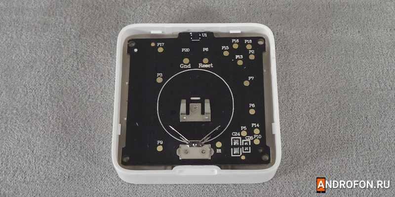 Внутренняя материнская плата гигрометра Xiaomi.
