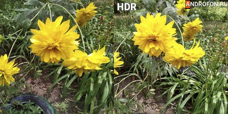 Обработка снимка в HDR в Xiaomi Redmi 5.
