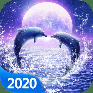 zhivye delfiny logo