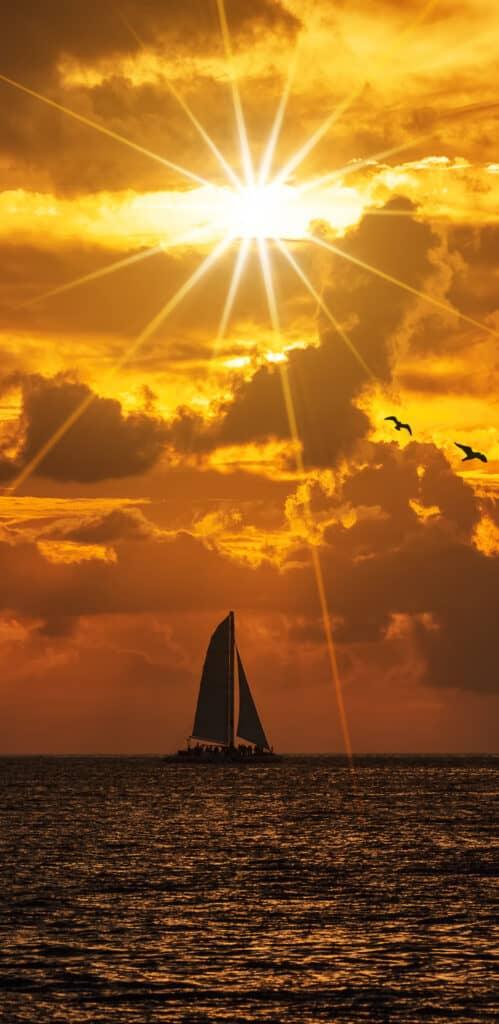 Обои море небо скачать бесплатно 18230121