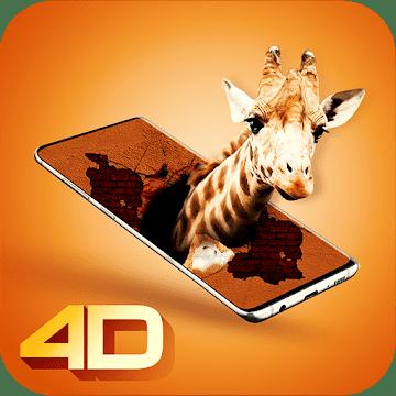 3D parallaks logo