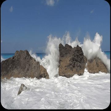 Ocean waves logo