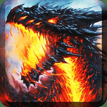 Dragon wallpaper logo